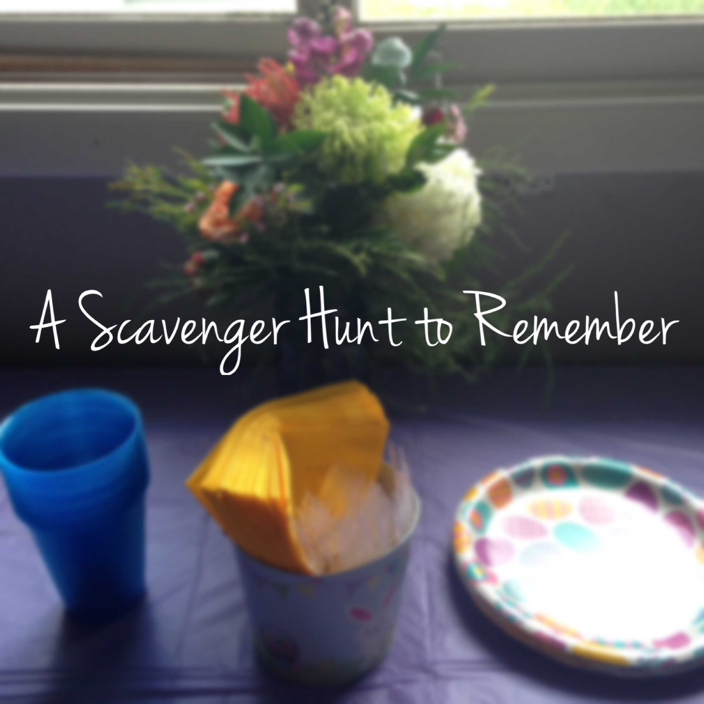 A jelly bean egg hunt for Memorial Day Weekend! More info at the Bitty-Bits Blog!